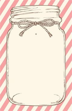 38 Ideas For Bridal Shower Invitations Free Template Mason Jars Mason Jar Wedding Invitations, Diy Invitations, Wedding Invitation Templates, Bridal Shower Invitations, Invites, Wedding Stationery, Mason Jar Clip Art, Mason Jars, Diy Cadeau