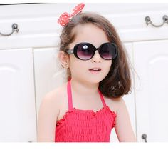 f21f97ea57 Kids Trendy Summer UV Sunglasses Brand Name REEDOON Eyewear Type
