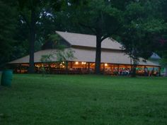 Pleasant Grove Campground Arbor Mineral Springs, NC - Evening Worship - photo by Martin Lane