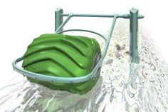 Hydro-Electric Barrel Design Uses Moving Water to Generate Energy