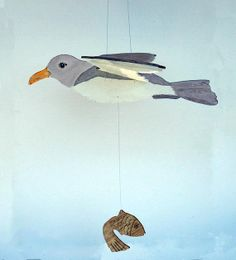 SEAGULL MOBILE by MOBILEART on Etsy, $45.00