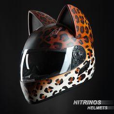 NekoHelmet leopard  more info www.nitrinos.ru