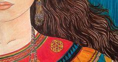 "Pamela Ifandy's ""Seminole Woman"", 2014"