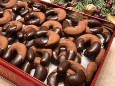 Christmas Diy, Xmas, Hungarian Recipes, Crackers, Diy And Crafts, Sweet Treats, Clean Eating, Stuffed Mushrooms, Food And Drink