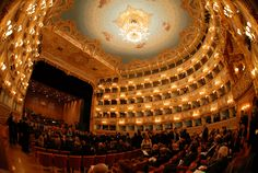 The Italian Landscapes Paesaggi italiani — Gran teatro La Fenice, Venezia (Grand Theater The...