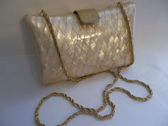 Vintage ITALiAN MOTHER of PEARL Clutch by MaisonettedeMadness, $145.00@A Jerk