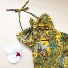 Baby romper Vacation Baby Playsuit Hawaii Summer