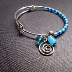 Bracelete de pingentes | prata
