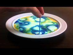 Eksperyment #10 Kolorowe mleko (eksperymenty domowe) (doświadczenia chemiczne) - YouTube Summer Club, Color Shapes, Science, Youtube, Kids, Experiment, Portal, Origami, Child