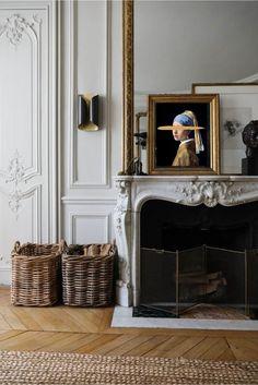 Interior Design Minimalist, Salon Interior Design, Home Interior, Contemporary Interior, Luxury Interior, French Interior Design, Antique Interior, Interior Stylist, French Apartment