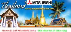 Máy lạnh Mitsubishi Heavy chính hãng Thái Lan: Khách hàng mua từ 5 bộ Điều hòa âm trần Mitsubishi...