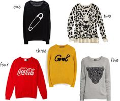 5 Graphic Sweaters under $50