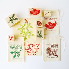 Holiday cards - yellow owl workshop