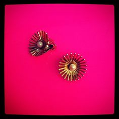 #yearofcolor vintage earrings