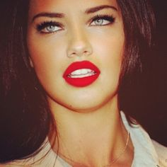matte red lips...gorgeous
