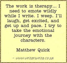 Quotable - Matthew Quick - Writers Write Creative Blog