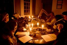 Candlelight Evening in Old Bethpage Village Restoration Warms the Heart, Soothes the Soul – Going Places, Far & Near Holiday Travel, Restoration, Table Settings, Warm, Table Decorations, Places, Home Decor, Decoration Home, Room Decor