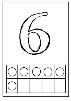 10 karet A4 s obrysy číslic a vyjádřením jejich počtu. Lze vymodelovat, vybarvit, vyložit pomocí přírodnin, použít tiskátka, ...