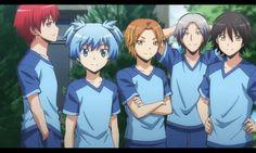 Class 3E Boys    Assassination Classroom