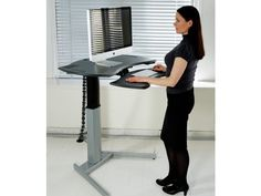 XO2 EL Standing Desk with Keyboard Surface