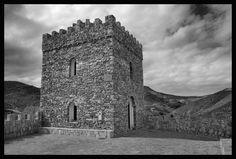 Lijar castle, built in 2005. Almeria