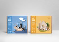 GIGI Bloks — The Dieline - Branding & Packaging                                                                                                                                                      More