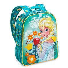 Anna and Elsa Reversible Backpack - Personalizable | Backpacks & Lunch Totes | Disney Store