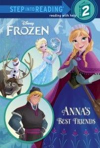 Disney Frozen Storybook - Anna's Best Friends (Step into Reading) #disneyfrozen #disneyfrozenelsa #disneyfrozenanna #disneyfrozenolaf #disneyfrozenkristoff #disneyfrozensven
