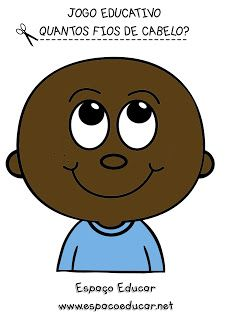 ATIVIDADE LÚDICA - JOGO EDUCATIVO CONTANDO OS FIOS DE CABELO COM PREGADORES DE ROUPA! - FICHAS PARA IMPRIMIR - ESPAÇO EDUCAR Scissor Skills, Teaching Math, Charlie Brown, Diy And Crafts, Kindergarten, Montessori, Fictional Characters, Visual Perceptual Activities, Sight Word Activities
