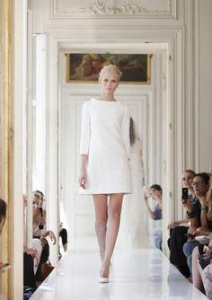 chic wedding dress / French Wedding Style Blog /