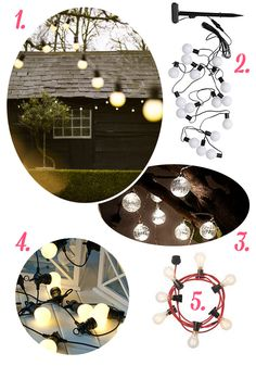 Have you ever fancied some string lights outside but can't find them in the UK? Here's my round up...
