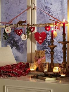Christmas time is coming and the best way to conjure the holiday spirit is to take care of beautiful Christmas window decorations. The practice of making up special decorations at Christmas has a long history.