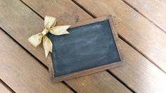 Gold rustic Chalkboard wood chalkboard gold wedding by PineNsign