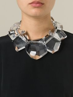 Large Resin Stone Necklace by Monies in Quantum of Solace
