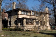 F.H. Bell House - 7314 West Oak Street River Forest, Illinois - Harry Mahler - 1913