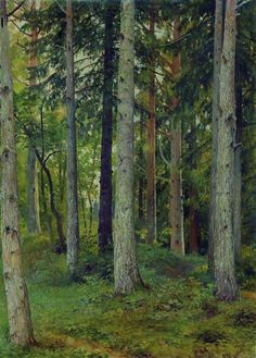 Forest, Ivan Shishkin