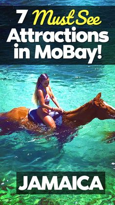 Want some fun things to do in Montego Bay, Jamaica. Here are 7 attractions you should definitely check out in Montego Bay. Inside you'll find some of the most popular attractions in Jamaica. Source by tropical_travel_boutique vacation outfits Jamaica Honeymoon, Visit Jamaica, Montego Bay Jamaica, Jamaica Vacation, Jamaica Travel, Jamaica Trips, Falmouth Jamaica, Jamaica Cruise, Jamaica Jamaica