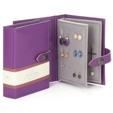 The Little Little Book Of Earrings in Purple