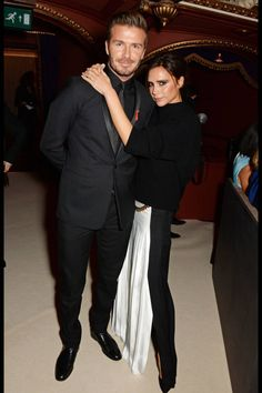 David and Victoria Beckham and others celebrated the 60th anniversary of the London Evening Standard last night.