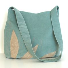 Purse Handbag with patchwork and embroidery  hobo by Sisoibags, $63.00