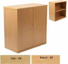 Newbury 25 Wooden Two Shelf Bookcase Cupboard - Beech or Oak : Newbury 25 Wooden Two Shelf Bookcase Cupboard - Beech or Oak For More Information Visit http://www.atlantisoffice.com/newbury-25-wooden-two-shelf-bookcase-cupboard-beech-or-oak-p-923.html
