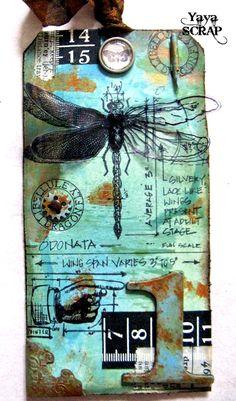 yaya scrap & more: 12 tags of 2013: Aprile