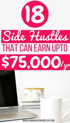 Are you looking for legitimate work from home jobs that will earn you income from the comfort of your home? Try these 18 side hustles that can make you $75,000 per year! #workfromhome #workfromhomejobs #sidehustles #makemoneyonline Legit Work From Home, Legitimate Work From Home, Work From Home Tips, Make Money From Home, How To Make Money, Earn Money Online, Online Jobs, Online Careers, Marketing Program