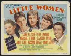 In my opionion the best Movie adaption of LIttle Women..to me June Allyson embodied Jo from my imagination...and I loved all the supporting cast except..didn't dig Peter Lawford as Laurie..too stuffy