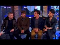 The Cast Of Unbroken Talks Working With Angelina Jolie - YouTube