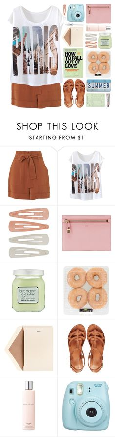 """""""Paris Casual"""" by lover-of-pie ❤ liked on Polyvore featuring Whistles, Forever 21, She's So, Tom Ford, Laura Mercier, Dempsey & Carroll, ASOS and Lancôme"""