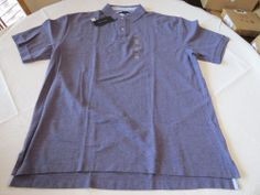 Men's Tommy Hilfiger Polo shirt NWT XXL solid NEW 7839955 Hippo Purple Heather