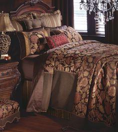 Eastern Accents Hayworth Duvet Collection - All Bedding Sets - Bedding Sets - Bed & Bath Black Rooms, White Rooms, Best Duvet Covers, Bedding Sets Online, Luxury Bedding Collections, King Comforter Sets, Queen, Dream Bedroom, Master Bedroom