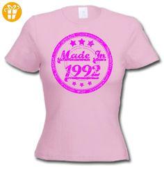 MADE IN 1992 - 25 Geburtstagsgeschenk / Gegenwart T-Shirt Hellrosa 2XL - T-Shirts mit Spruch | Lustige und coole T-Shirts | Funny T-Shirts (*Partner-Link)
