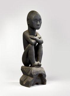 Divinité du riz bulul, population ifugao. 15-17ème siècle,Philippines
